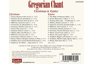 Gajard/Choir of the Monks of the Abbey - Gregorian Chant  - (CD)