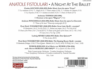 Paris Conservervatoire Orch. - A Night At The Ballet  - (CD)