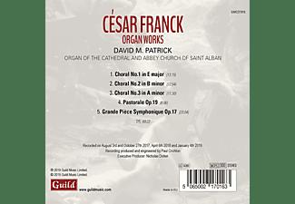 DAVID M. Patrick - César Franck: Orgelwerke  - (CD)