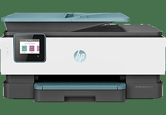 HP Multifunktionsdrucker OfficeJet Pro 8025 Türkis Inkl. 2 Probemonate Instant Ink