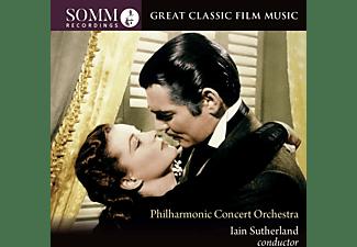 Philharmonic Promenade Orchestra, Sutherland - Great Classic Film Music  - (CD)