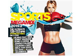 VARIOUS - Sports Megamix 2019.2 Your Workout Favourites  - (CD)