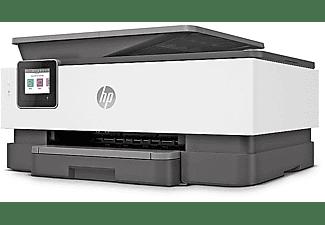 HP Multifunktionsdrucker OfficeJet Pro 8024 mit 3 Monate Instant Ink, Tinte, grau (1KR66B)