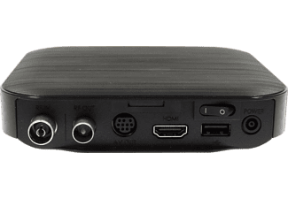 HUMAX Kabel HD Nano Kabelreceiver (HDTV, DVB-C, DVB-C2, Schwarz)