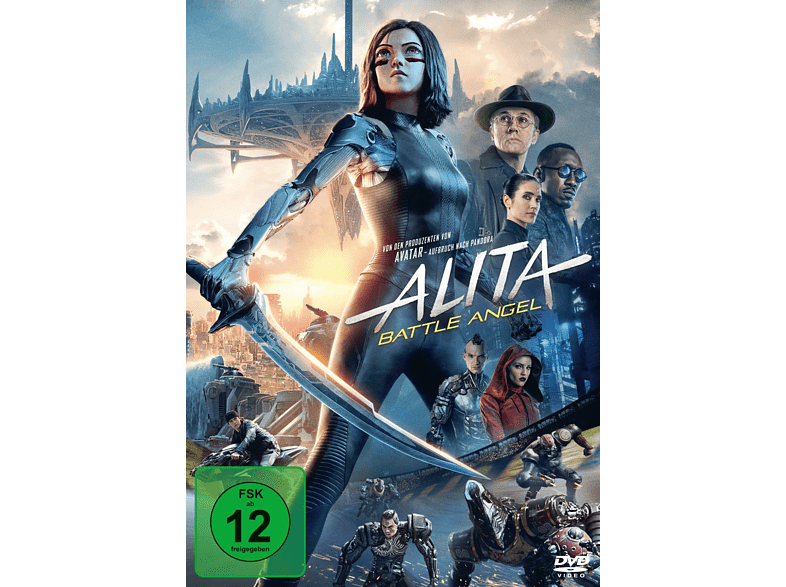 Alita: Battle Angel [DVD]