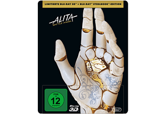 Alita: Battle Angel (Steelbook) (2 Disks) 3D Blu-ray (+2D)