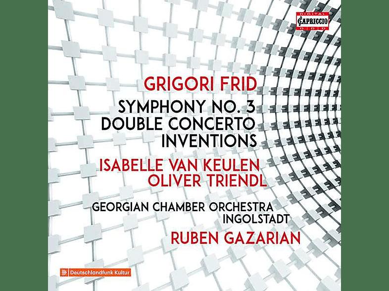 Georgisches Kammerorchester Ingolstadt, VARIOUS, Triendl, Gazarian - Werke für Orchester [CD]