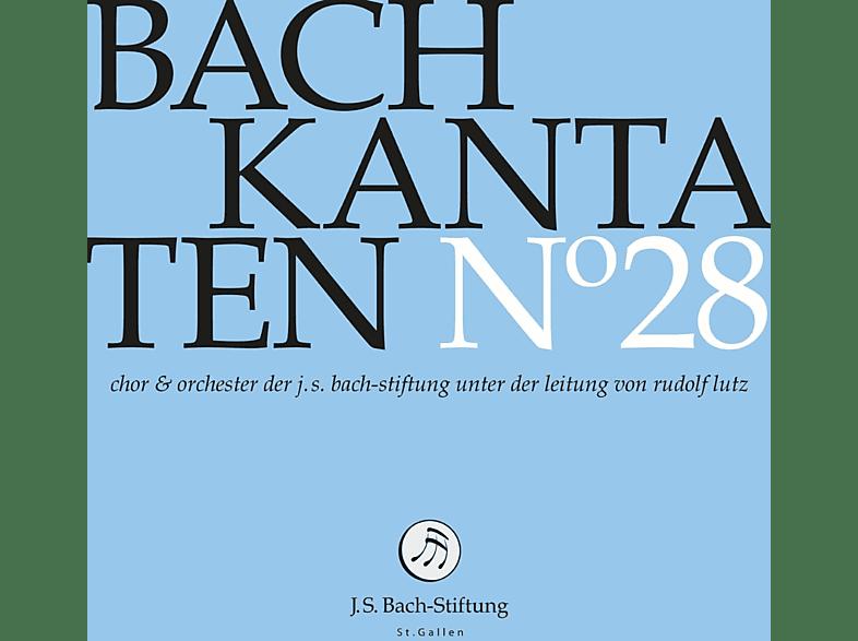 Chor & Orchester der J. S. Bach-Stiftung,  Rudolf Lutz - Kantaten No°28 [CD]