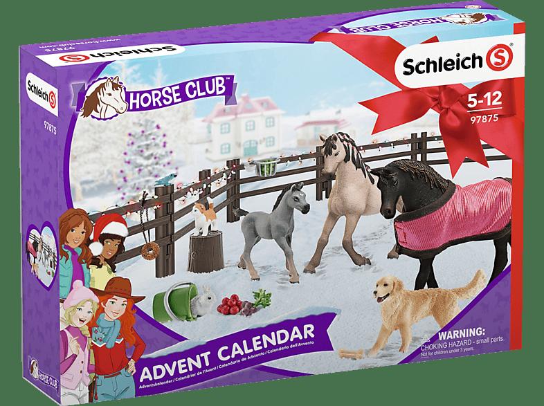 SCHLEICH Adventskalender Horse Club 2019 Adventskalender, Mehrfarbig