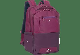RIVACASE Claret Notebooktasche Rucksack für Universal Wasserabweisendem Polyester, Lila/Purpur