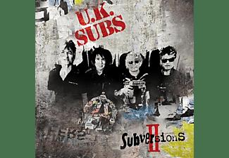 Uk Subs - Subversions II  - (CD)