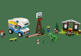 LEGO 10769 Ferien mit dem Wohnmobil Bausatz, Mehrfarbig