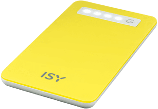ISY Powerbank 4.000 mAh Yellow (IPP-4000-YL)
