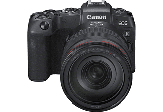 CANON EOS RP Kit Systemkamera mit Objektiv 24-105 mm f/4, 7,5 cm Display Touchscreen, WLAN