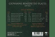 Francesco Galligioni - Platti:Cello Sonatas [CD]