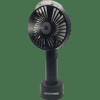 REALPOWER Mobile Fan Spray Ventilator Schwarz