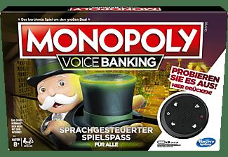 HASBRO GAMING Monopoly Voice Banking Sprachgesteuerter Spielspaß ab 8 Jahren Gesellschaftsspiel Mehrfarbig
