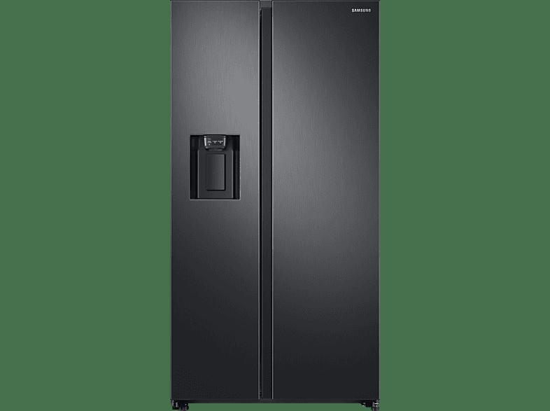 SAMSUNG RS6GN8221B1/EG  Side-by-Side (389 kWh/Jahr, A++, 1780 mm hoch, Premium Black Steel/Schwarz)