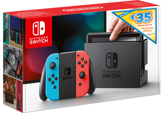 NINTENDO Switch Summer Bundle με κόκκινο και μπλε Joy-Con