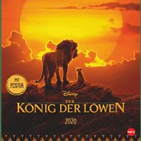 ATHESIA LION KING BROSCHUR Kalender, Mehrfarbig