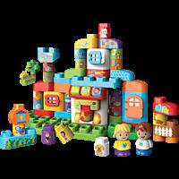 VTECH BlaBlaBlocks - Alphabethaus Lernspielzeug, Mehrfarbig