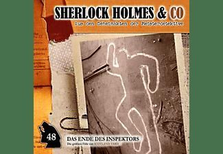 Sherlock Holmes & Co - Der Tod Des Inspektors-Folge 48  - (CD)