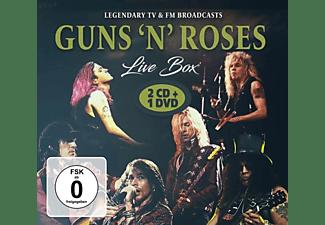 Guns N' Roses - Live Box  - (CD)