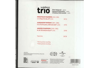 Wajnberg Trio - Werke für Kammermusik  - (CD)
