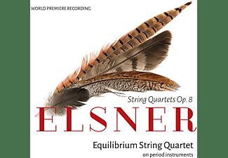 Equilibrium String Quartet - Elsner: Werke für Streichquartette  - (CD)