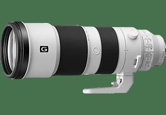 SONY SEL200600G Vollformat 200 mm - 600 mm f/5.6–6.3 G-Lens, ED, OSS, IF, IZ (interner Zoom), FHB, FRL, DMR, Circulare Blende (Objektiv für Sony E-Mount, Weiß)