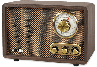 VICTROLA Radio Retro Wood Bluetooth AM/FM Walnut (VRS-2800-WLN-EU)