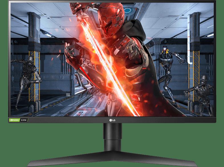 LG 27GL850-B UltraGear 27 Zoll WQHD Gaming Monitor 1 ms Reaktionszeit, 144 Hz