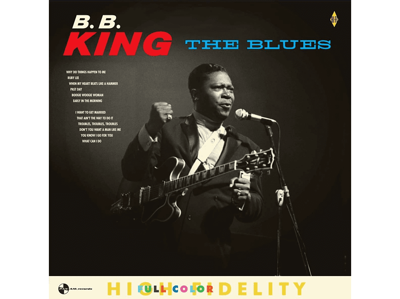 B.B. King - The Blues+4 Bonus Tracks (180g LP) [Vinyl]