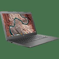 HP Chromebook 14-db0301ng, Chromebook mit 14 Zoll Display, A4 Prozessor, 4 GB RAM, 64 GB eMMC, Radeon R3, Grau
