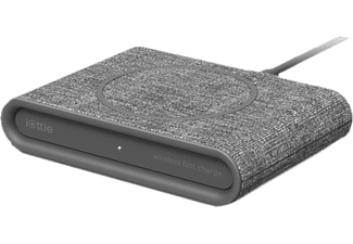 IOTTIE Mini - Caricabatterie rapido wireless (Grigio)