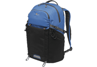 LOWEPRO Photo Active BP 300 AW - Rucksack (Schwarz/Blau)