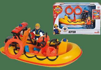 SIMBA TOYS Feuerwehrmann Sam Neptune Boot Spielzeugbot Mehrfarbig