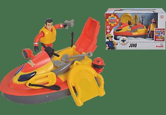SIMBA TOYS Feuerwehrmann Sam JetSki Juno Spielzeug Jet Ski Mehrfarbig
