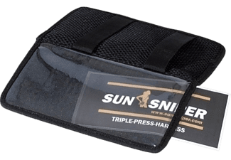SUN-SNIPER Triple Press Harness - Titulaire de la carte (Noir)