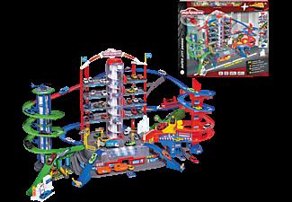 MAJORETTE Super City Garage Autogarage, Mehrfarbig