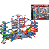 MAJORETTE Super City Garage Autogarage Mehrfarbig