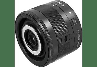 Objetivo EVIL - Canon EF-M 28 mm, 45.5mm, f/3.5 IS STM, Macro, Negro