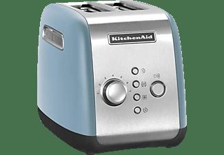 KITCHENAID 5KMT221EVB Velvet Blue Toaster Hellblau (1100 Watt, Schlitze: 2)
