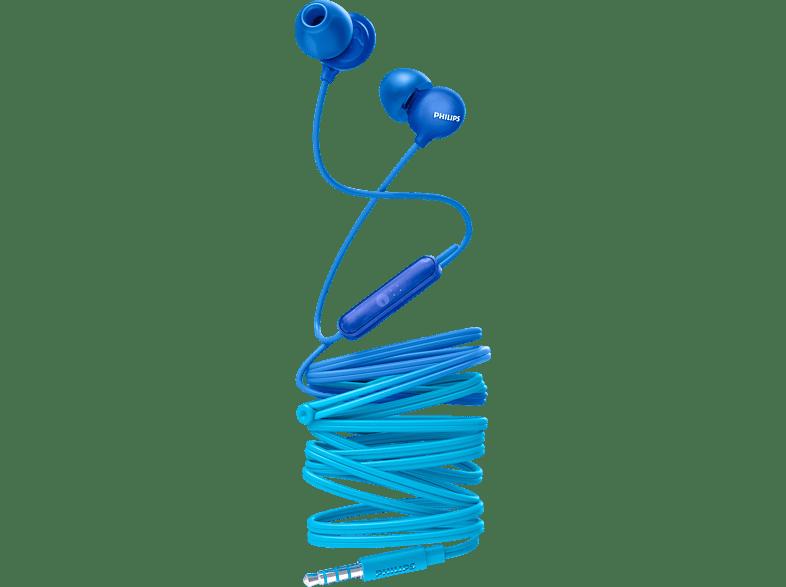 PHILIPS SHE2405BL, In-ear Kopfhörer Blau