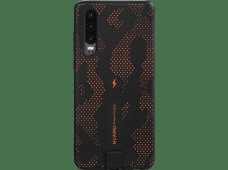 HUAWEI Wireless Charging Case, Backcover, Huawei, P30, Dynamic Orange