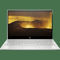 HP ENVY 13-aq0300ng, Notebook mit 13,3 Zoll Display, Core™ i5 Prozessor, 8 GB RAM, 512 GB SSD, Intel® UHD-Grafik 620, Silber