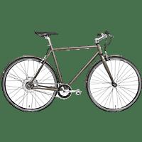 TECHNIBIKE Cooper E Urbanbike (28 Zoll, 52 cm, Diamant, 160 Wh, Cocoa)