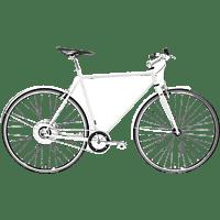 TECHNIBIKE Cooper E Urbanbike (28 Zoll, 52 cm, Diamant, 160 Wh, Weiß Matt)