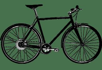 TECHNIBIKE Cooper E Urbanbike (28 Zoll, Rahmenhöhe: 28 Zoll, Herren-Rad, 160 Wh, Schwarz Matt)