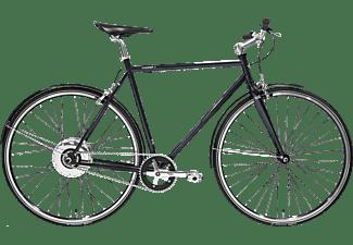 TECHNIBIKE Cooper E Urbanbike (28 Zoll, 61 cm, Diamant, 160 Wh, Monza Blau)